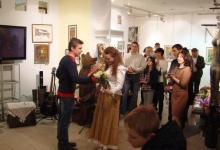 11 апреля 2015 г. Открытие выставки Анны Чичуриной «Моя деревня»
