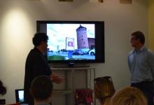 24 сентября 2015 г. Фоторепортаж с презентации варианта бренда города Коломна от компании «Redbrand»