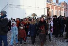 8 января 2015 г. Рождественское шествие с колядками