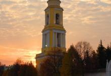 Колокольня Ново-Голутвина монастыря