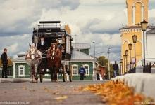 Коломенский кремль осенью