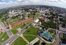Коломенский кремль с высоты птичьего полета