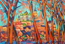 Кремль на картинах коломенских художников